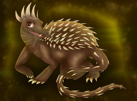 Anguirus by PlagueDogs123