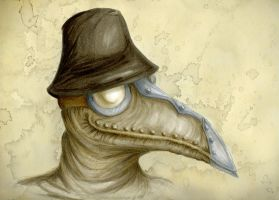 The Plague Doctor by Noriko-Sugawara