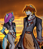 Contest Entry Alina and Oscar by xbox360gamer