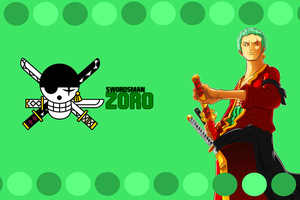 One Piece - Zoro Roronoa Wallpaper by NMHps3
