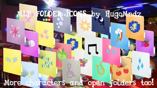 MLP Folder Icons (WILL BE DELETED SOON) by HugoMndz