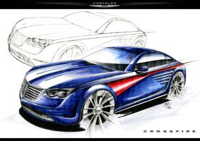 Chrysler Marker Rendering by mickeyd1o1