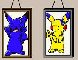 commission - picture frames by ninachu713