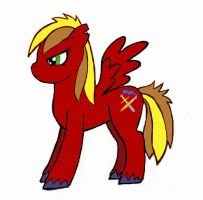 my pony named Cavalry by arcanineryu