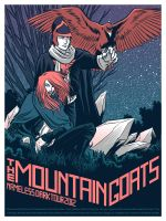 The Mountain Goats Nameless Dark 1 by robertwilsoniv