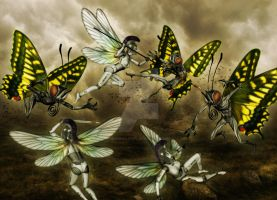 Attack of the Butterflies by JasonCasteel