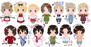 Nyotalia Chibis by Its-All-In-Your-Head