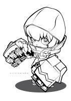 Strength Nendoroid - Black Rock Shooter by yourcris