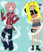 naruto gender bender 1 by Electrachi