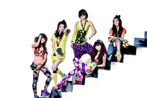 4Minute Hot Issue png by Sellscarol