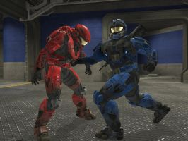 Halo: Reach Assassination by redrum201