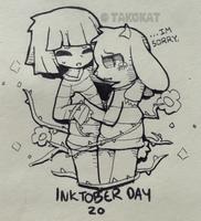 Inktober day 20 by TakoKat