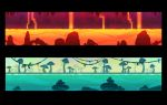 Video Game stages by nondev