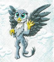Gabby the Griffon by Helmie-D
