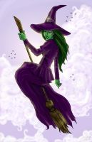 Elphaba, Flying by crocodilegirl