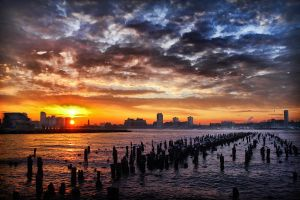 New York Sunset by Danwarner