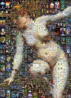 Muse of the Night Mosaic by Cornejo-Sanchez