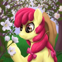 Blooming Apple by blueSpaceling