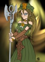 Coloring A Forest Guardian by Annushkka