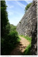 Castle Wall by In-the-picture
