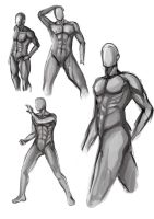 exercise_ male anatomy by NightmareMoonLuna