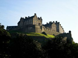 edinburgh castle 1 by cubstock