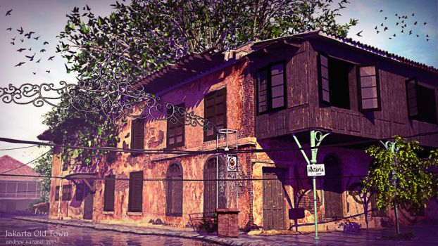 Jakarta Old Town Series : Part 1 by Androgs