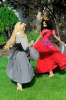 Dance of the Disney Dresses by MomoKurumi