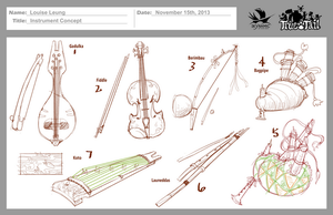 True Tail: Instrument Concept 001 by SkynamicStudios