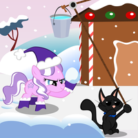 Diamond and Dazzle: Snow by MagerBlutooth