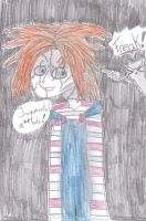 Chucky and Foamy the Squirrel by mrslovett567