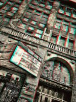 Theater Facade 3-D conversion by MVRamsey