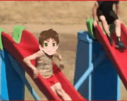 Hetalia - Wipeout: gif - Spain 2 by SydneyA