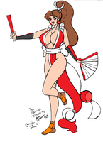Mai Shiranui - Collab by RakaiThwei