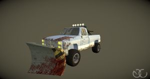Zombie defence Vehicle by Cogs90