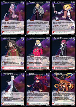 Disgaea: Netherwar Card Game - Villains (SPOILERS) by masterage