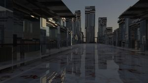 Glass Marble City by Topas2012