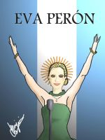 Eva Peron by ReconCookies