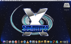 My Personalised X desktop by stumpy666davies