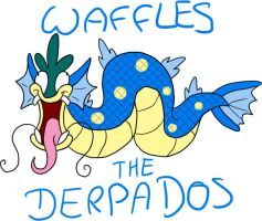 Waffles the Derpados by Doomdrao