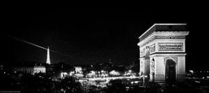 Arc de triomphe by abo3ziz