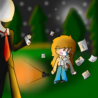 Slender Man And Me by Cupida