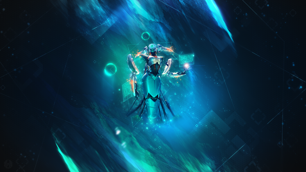 Program Lissandra  ~ League of legends - Wallpaper by Aynoe