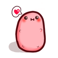 Kawaii Mascot- kawaii potato by lolitpop