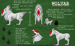 Wolvar Refrence Sheet by Naeomi
