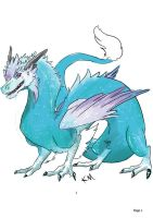 Yuyaka: Dragon form by HyperactiveInnocence