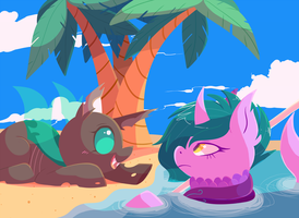 Summer Exchange - Hi There!! by ChocoChaoFun