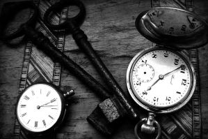 Watches and Keys by Forestina-Fotos