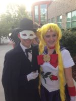 Me And Tuxedo Mask!!!! by Maw1227