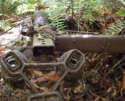 rusty forest machine part by Eris-stock